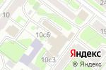 Схема проезда до компании Interus-tour в Москве
