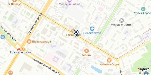 ПТФ ГАЛИФАКС на карте Москве