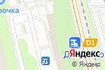 Схема проезда до компании Dolce Fumo в Москве