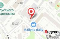 Схема проезда до компании О.Ф.Принт в Москве