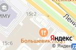 Схема проезда до компании Большевик в Москве