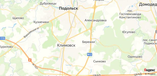 Новоколедино на карте