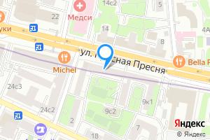 Однокомнатная квартира в Москве ул Красная Пресня, 11
