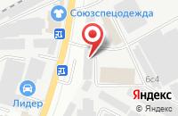 Схема проезда до компании Дивикорд в Подольске