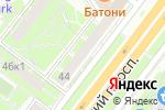 Схема проезда до компании ANEX SHOP в Москве