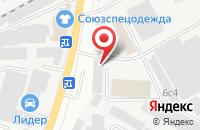 Схема проезда до компании АйТэКо в Подольске