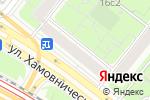 Схема проезда до компании Доставка кальяна в Москве
