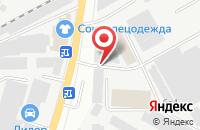 Схема проезда до компании Подольские аккумуляторы в Подольске