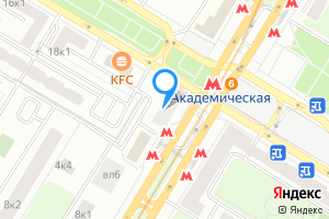 Двухкомнатная квартира в Москве Профсоюзная ул., 7\u002F12