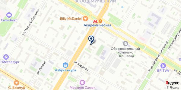 ТЗФ ULTRA FISH на карте Москве