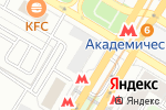 Схема проезда до компании Цветобаза в Москве