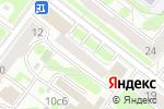 Схема проезда до компании Карт Бланш в Москве