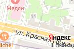 Схема проезда до компании Артпродюс в Москве
