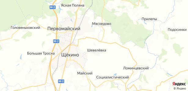 Шахты-21 на карте