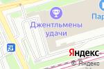 Схема проезда до компании Техинвест в Москве
