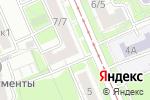 Схема проезда до компании МегаСвязь в Москве