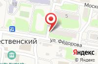 Схема проезда до компании Будь здоров в Рождественском