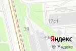 Схема проезда до компании Троис Групп в Москве