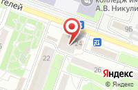 Схема проезда до компании Маринка в Подольске