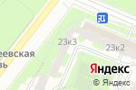 Схема проезда до компании Эврика-Бутово в Москве