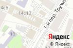 Схема проезда до компании Патентный советникъ в Москве