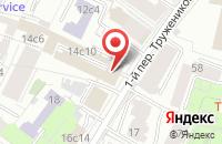 Схема проезда до компании АТгрупп продюсерский центр в Москве