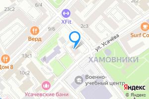Снять комнату в Москве м. Фрунзенская, Усачёва улица, 4