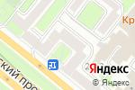 Схема проезда до компании Оксфорд Краун в Москве