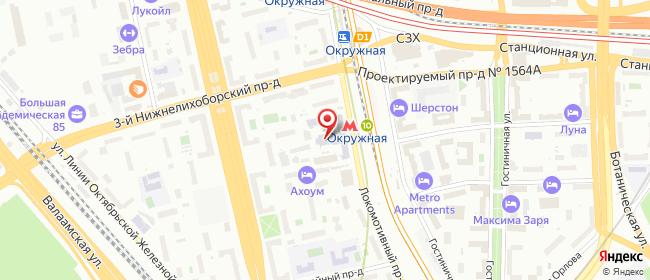 Карта расположения пункта доставки Фотосалон AIRFOTO в городе Москва