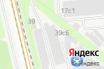 Схема проезда до компании Сервисная компания в Москве