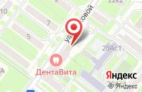 Схема проезда до компании Бизнес Парк в Москве
