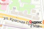Схема проезда до компании Рублёвский в Москве