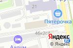 Схема проезда до компании ИНЭП в Москве