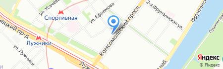 Парадис Медикал на карте Москвы