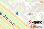 Схема проезда до компании Карандаш в Москве