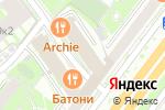 Схема проезда до компании FIT-N-GO в Москве