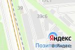 Схема проезда до компании Порукам в Москве