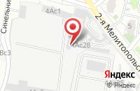 Схема проезда до компании Глобал-Тех в Москве