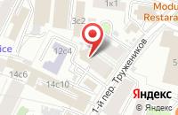 Схема проезда до компании Балтийская Строительная Компания «Центр» в Москве