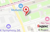 Схема проезда до компании См-Восток в Москве