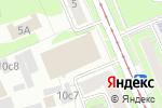 Схема проезда до компании Юпартс в Москве