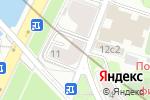 Схема проезда до компании Надежный партнер в Москве