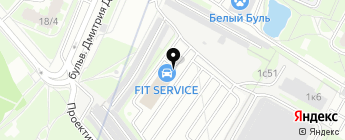 FIT SERVICE на карте Москвы