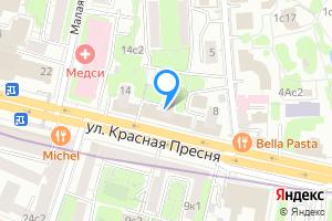 Сдается однокомнатная квартира в Москве ул Красная Пресня, 12