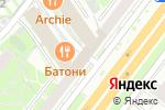 Схема проезда до компании СИБИНФОЦЕНТР в Москве