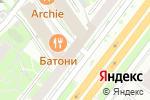 Схема проезда до компании Внешпромбанк в Москве