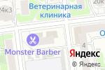 Схема проезда до компании РЕНТ-ДЕКОР в Москве