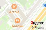 Схема проезда до компании Ле Шале в Москве