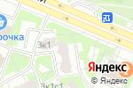 Схема проезда до компании Мишель в Москве