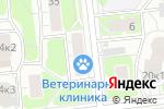 Схема проезда до компании Marite.Ru в Москве